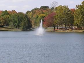 Lions Lake Fountain